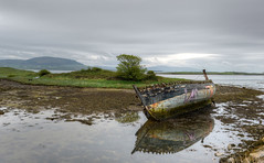 013_0041_2_3_tonemappedb (Andrew Wilson 70) Tags: boat oldboat wreck countysligo sligo shipwreck