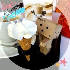 HAPPY SUNDAY! (Nana ()) Tags: actionfigure yotsuba danbo revoltech danboard