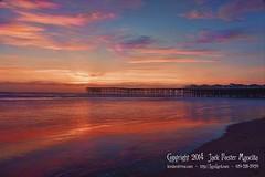 Crystal Pier Sunset (LensLord) Tags: ocean ca sunset beach jack pier pacific crystal foster mancilla ef28300mmf3556lisusm ijakmaccom lenslord thelenslord
