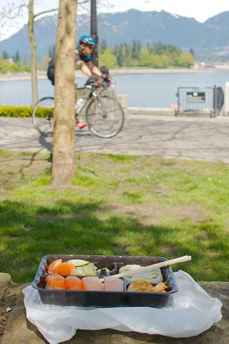Seawall Sushi Lunch Break