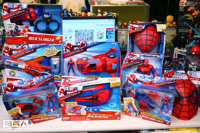 【開箱報告】化身成最帥氣的蜘蛛人 – 孩之寶蜘蛛人角色扮演系列