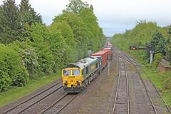 Freightliner 66516 - Dorridge (Andrew Edkins) Tags: geotagged diesel shed boxes warwickshire liner freighttrain mainline freightliner dorridge class66 intermodal 66516 railwayphotography