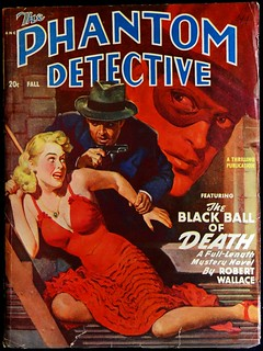 Phantom Detective Vol. 54, No. 1 (Fall 1949).  Possible Inspiration for Batman