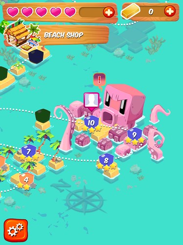 Juicy Cubes Level Selection: screenshots, UI