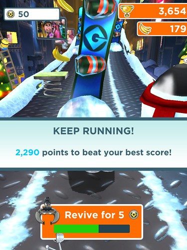 Despicable Me: Minion Rush Save Me!: screenshots, UI