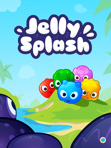 Jelly Splash Loading: screenshots, UI