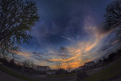 IMG_7073.JPG (Jamie Smed) Tags: 2014 handyphoto hdr tree trees blue app eos dslr jamiesmed iphoneedit teamcanon fisheye canon t1i rebel snapseed sky sunset sun skies light rokinon lens prime geotagged road roads geotag fixed manual focus facebook wide angle landscape cincinnati ohio midwest 500d photography clouds spring