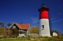Nauset Beach Light (evanlochem) Tags: ocean new england lighthouse beach architecture america spring massachusetts united may historic atlantic coastal cape states cod eastham nauset