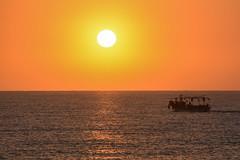 Soleil levant (CharlesEi1) Tags: stella sunset sea sky sun mer moon fish beach lune soleil nikon venus egypt sigma bateaux bleu ciel nikkor 50 bateau pecheur poisson plage peche egypte d7100