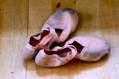 Ballet Shoes (jocelynmifsud) Tags: old ballet vintage shoes dirty worn rough balletshoes
