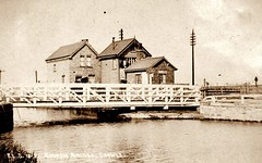 """Godnow Bridge and Station • <a style=""""font-size:0.8em;"""" href=""""http://www.flickr.com/photos/124804883@N07/14038520970/"""" target=""""_blank"""">View on Flickr</a>"""