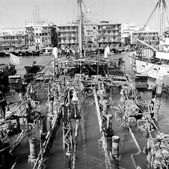 02_Port Said - Harbour Scene (usbpanasonic) Tags: canal redsea egypt portsaid mediterraneansea egypte  suez egyptians egyptiens harbourscene