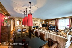 Luxury 4 Bedroom Apartment | Courchevel 1850, French Alps, France (UniqueLiving) Tags: wood ski france property logcabin luxury