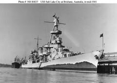 USS Salt Lake City CA-25