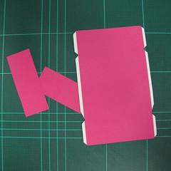 วิธีทำโมเดลกระดาษตุ้กตา คุกกี้สาวผู้ร่าเริง จากเกมส์คุกกี้รัน (LINE Cookie Run – Bright Cookie Papercraft Model) 028