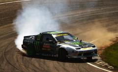Drift (nic_r) Tags: world cars car championship smoke hill racing burning fia tyres tyre rx rallycross motorsport drifting drift drifter 2014 lyddenhill lydden rallycrossrx worldrx