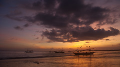 DSC_3556 (deoka17) Tags: sunset bali tuban kuta romanticsunset pantaikedonganan