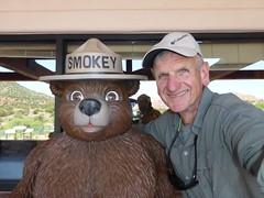 Smokey and friend (PSHiker) Tags: sedona gops
