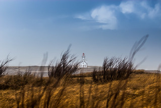 Phare des Poulains un jour de tempête - ©Cacolea