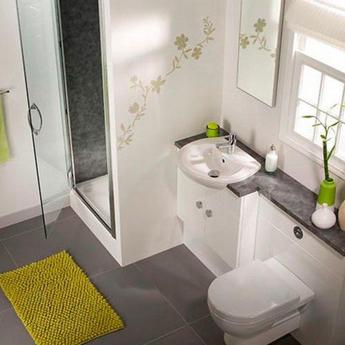 Decorar Un Baño Pequeno:Baños Pequeños – Cómo decorar baños pequeños