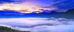 sea of clouds (Thunderbolt_TW) Tags: mist fog sunrise canon landscape daylight taiwan   daybreak seaofclouds nantou      wucheng