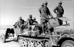 Demag Sd.Kfz. 10 1-ton with 3,7 cm PaK 35/36  - DAK