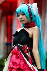Cosplayer @ Asia Cosplay Meet 2014 (Rickloh) Tags: anime asian costume model singapore comic cosplay bokeh manga culture makeup rick samsung characters oriental sg acm   nx       nx30 samsungnx beyondbokeh asiacosplaymeet samsungnx85mmf14 rickloh nxsg asiacosplaymeet2014
