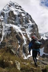 Passing Nevado Trapecio