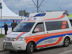 2014-051046 (bubbahop) Tags: car festival poland ambulance event vehicle van emergency szczecin 2014 markettour europetrip30