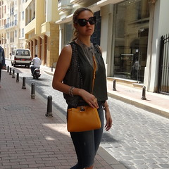 A Casual Day Lovebyn (Love by N) Tags: travel lebanon love girl sunglasses fashion shop necklace cool model peekaboo style jewelry skirt ring jewellery rings beirut chanel fendi topshop streetstyle fashionblog wiwt ootd travelblogger saifivillage fashionblogger dubaistreetstyle