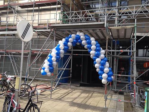 Ballonboog 5m Erasmus Universiteit Rotterdam