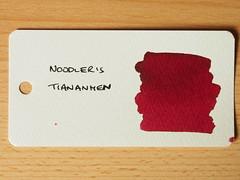 Noodler's Tiananmen - Word Card