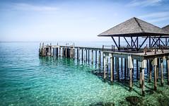Batu Batu, Pulau Babi Tengah, Malaysia (Pingouino) Tags: malaysia paradiseisland chinasea turquoisesea woodenpier pulautengah privateresort batubatu