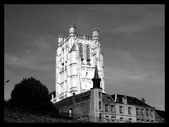 Notre-Dame de St Omer (hobbyphoto18) Tags: blackandwhite bw cathedral noiretblanc nb cathdrale pasdecalais stomer notredamedestomer