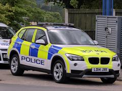 BMW Estate LD14 JXK, HQ, Gwent Police, Croesyceiliog, Cwmbran 8 June 2014 (Cold War Warrior) Tags: police bmw cwmbran emergencyservices croesyceiliog gwentpolice bmwpolice