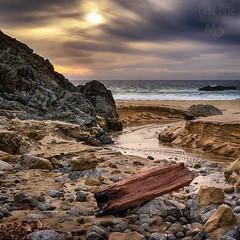 Garrapata Beach (mikeSF_) Tags: ocean california sunset seascape beach mike creek photography big pacific pentax sur garrapata oria 645d pentax645d mikeoria