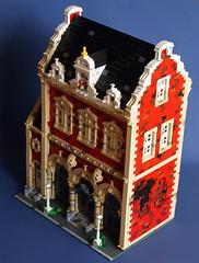 666 Market Street 3 (Aliencat!) Tags: street house corner cafe lego market modular