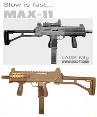 MAX-11 Uzi (enigmabadger) Tags: lego image custom suggestion reference uzi imi accessory brickarms