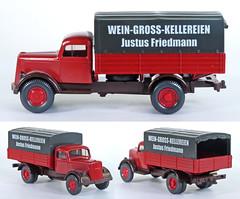 WIK-840-Wein (adrianz toyz) Tags: plastic toy model 187 ho scale wiking germany opel blitz adrianztoyz
