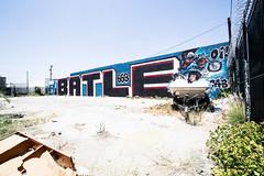 Batle (TheHarshTruthOfTheCameraEye) Tags: graffiti batle 663k losangelesgraffiti batleforever