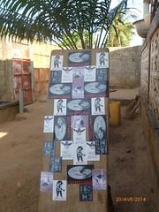 Vinylone in Togo - Afrika (Vinylone AFS + NO trades) Tags: streetart stickerart stickers combo vinylonestickers vinylintogoafrika