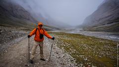 Я на коре вокруг горы Кайлас в Тибете