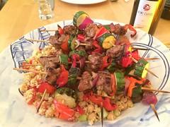 A storm of swords …er, kebabs.