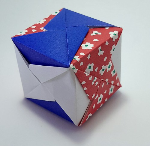 cube modularorigami tomokofuse facemodule