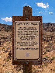 Inyo National Forest, Papoose Flat, Sign (darthjenni) Tags: california trip travel vacation landscape desert great basin mojave bishop owensvalley bigpine inyonationalforest inyomountains basinandrangeprovince darthjenni 36e404