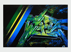 """Tanzania"" by WIZ (Wiz Art) Tags: streetart art writing graffiti artwork artist flag spray streetartist marker writer graffitiartist bergamo aerosolart graffitiart wiz sprayart streetstyle scanzorosciate sprayartist"