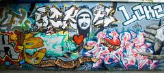 LOKE Tribute (Jamiecat *) Tags: street urban france art wall painting graffiti rip tribute graff toulouse hommage artiste loke toulousain