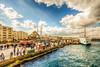 Istanbul (Nejdet Duzen) Tags: street city trip travel sea turkey cloudy türkiye vessel istanbul deniz vapur eminönü turkei yenicamii newmosque seyahat sirkeci cadde büyükşehir bulutlu