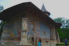 Voroneț Monastery (bbic) Tags: blue colours medieval monastery romanian voronet bucovina outstandingromanianphotographers