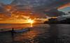 The Solar Constant (jcc55883) Tags: ocean sunset sky silhouette clouds hawaii nikon waikiki oahu horizon pacificocean nationalgeographic yabbadabbadoo d40 kuhiobeachpark nikond40